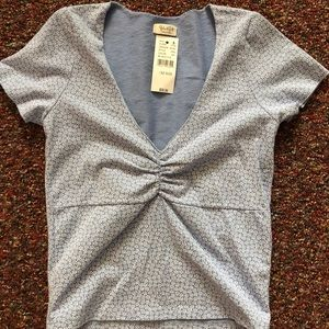 Brandy shirt with tags